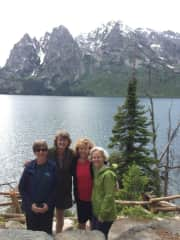 Life long friends on annual girls trip.