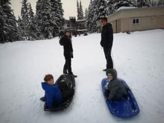a snow day em British Columbia