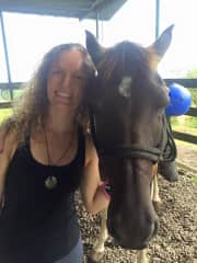 Riding horses in Costa Rica!