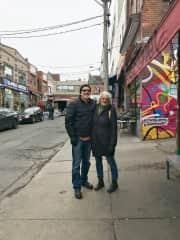 Tourists in our own town (Kensington Market, Toronto)