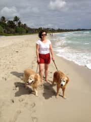 Susan, pet sitting Max and Sugar in Hawaii