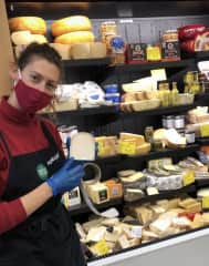 I worked in the Specialty department at Whole Foods for 3 years (cheese, wine, beer and coffee).