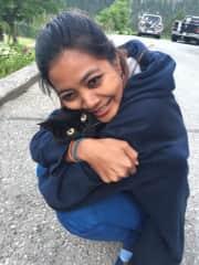 Pim hug all cats