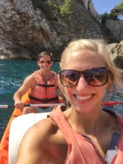 We love exploring and being active, and sea kayaking is perfect for both!