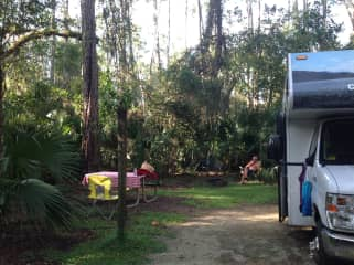 RVing in Ocala National Forest, Florida