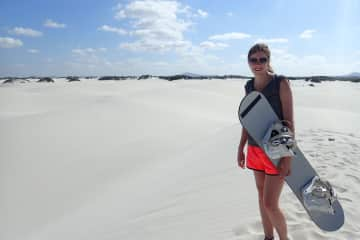 Sandboarding in South Africa