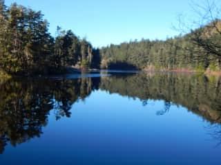 Mattheson Lake, ten mins. drive
