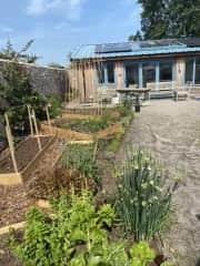 Studio and Vegetable Garden
