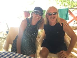 Judy and Chris