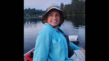 """Another simple pleasure of mine-a sunset boat ride in my 14' Mirracraft named """"lulu"""".  Sunset boatrides are the best!  I never want the ride to end...love the water."""