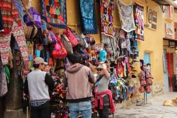 Shopping in Peru
