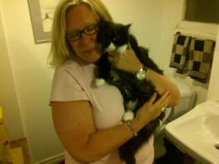 """We rescued """"Betty"""" from the SPCA"""