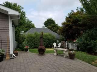 Yard and patio