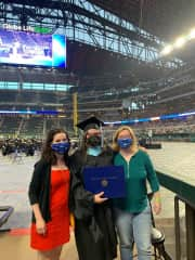 Master's degree completion! (December 2020; ceremony in May 2021)