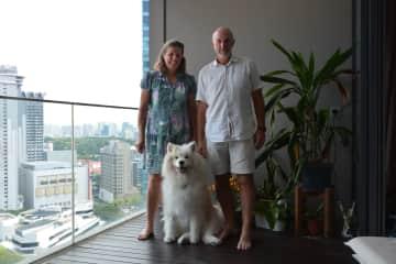 Jayne, Andrew and Kaiu, Singapore