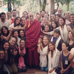 Meeting Dalai Lama in India