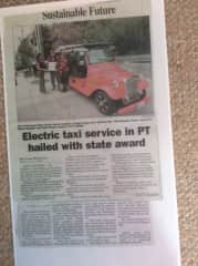 newspaper story about us