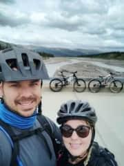 Riding the Denali Park road
