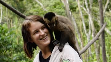 Volunteering at a wildlife sanctuary in Bolivia