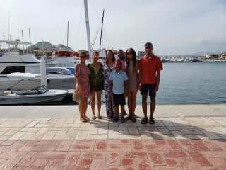 My family and I in Mexico