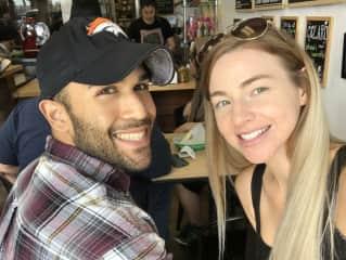 Shawna (my wife) and I
