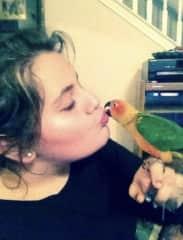 I am the bird whisperer!