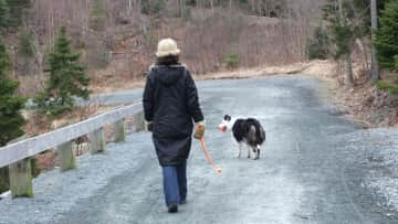 Walking Sally girl