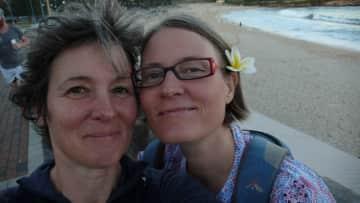 Jasmin and Hildegunn in Sydney 2018