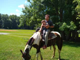 Family trail ride!