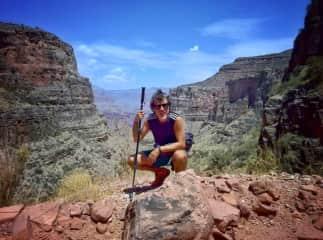 Tontxu in Grand Canyon