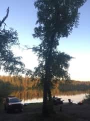Camping, something I love doing.