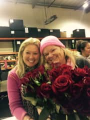 I love gardening and flowers and volunteer to decorate Rose Parade floats every year!