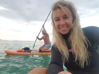 We love water sports, SUP, Windsurfing, Sailing & Surf