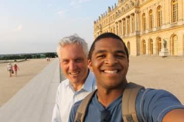 In Versailles, France