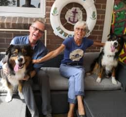 Thomas, Ute, with Winston and Archie, Australia 2019