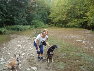 me with lovely pets in Connecticut (USA)