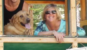 Kathy and Charlie in Lake Tahoe July 2015