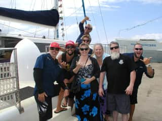 Me and Friends Sailing in Maui