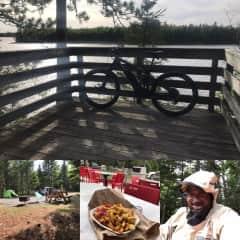 Me July 2018 enjoying Kouchibouguac National Park in  NB