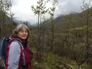 Me hiking in Alaska.