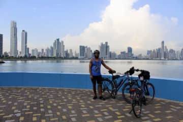Panama City, it´s a really nice skyline. We are looking forward to see more of Panama.