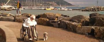 I took mum and her dog Taco on holiday to Diano Marina, Italy in September 2015. We love that place!