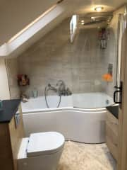 bathroom - there's also a downstair toilet