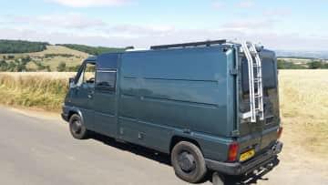 """Meet """"STOFFEL"""" the van."""