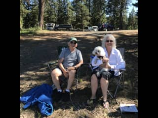 Camping at Hiatt Lake, Oregon