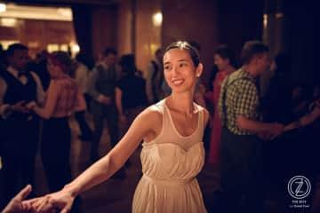 dancing Lindy Hop at a festival in Prague