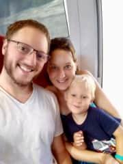 Chris, Katja & Charlie