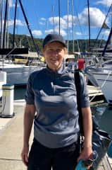 I do alot of sailing, It is my passion, here I am about to go sailing on an MC38 in Pittwater.