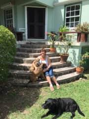 St. Kitts and Nevis 2016 with Brando, Socks and Ebony