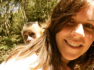 Working at a wildlife sanctuary in Bolivia (not a pet!)
